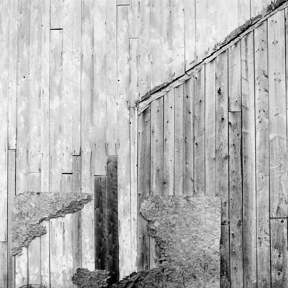 Barn Wall, Lincolnville, ME, 2002
