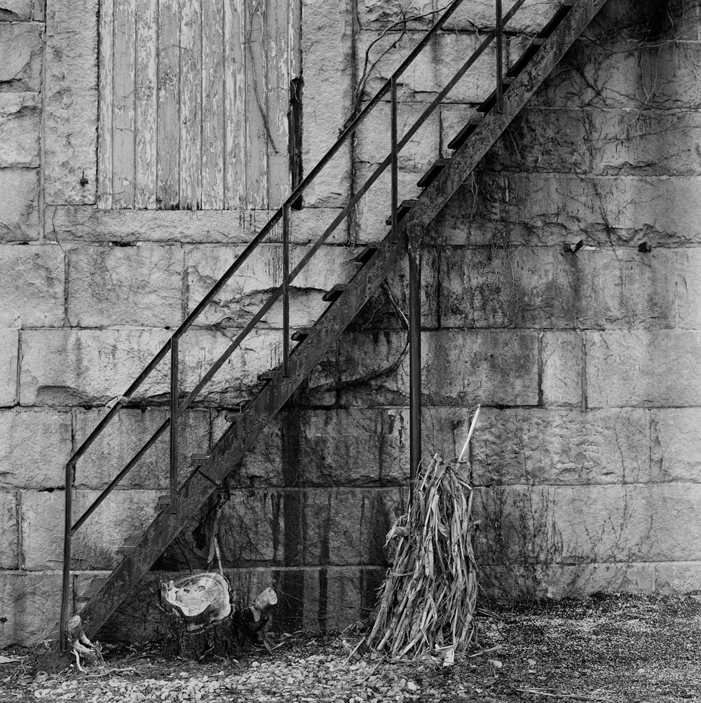 Stairway, New London, CT, 2003