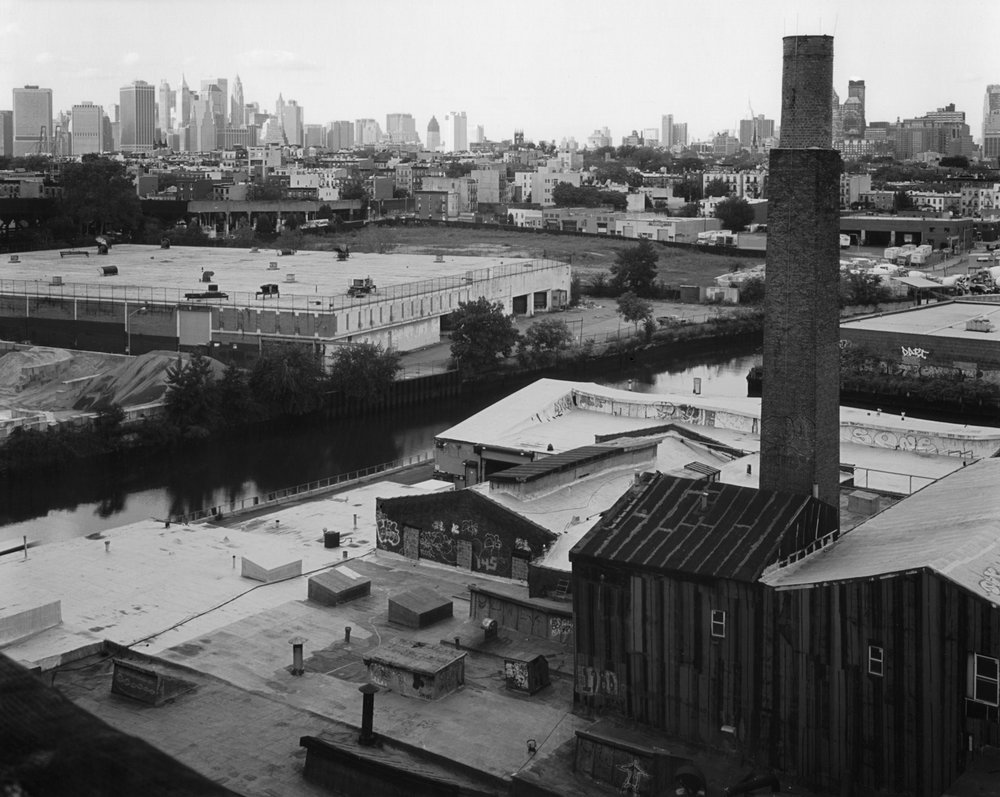 View from 9th Street F Train, Brooklyn, 2008
