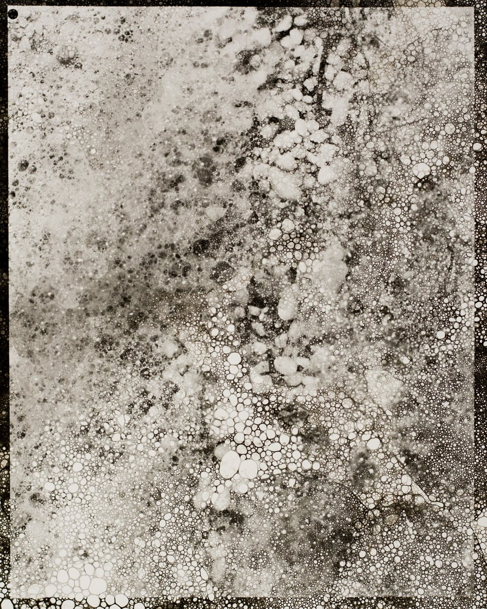 Ocean Abstraction 6.28.2017, Unique Silver Gelatin Print, 10 x 8 inches