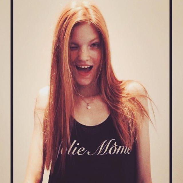 😉 🌸Anastasia Ivanova🌸 #tbt #anastasiaivanova #joliemome #prettykid #fashionweek #pfw #suprememanagementparis #wilhelmina #love #clindoeil #casting #paris #bobohouse