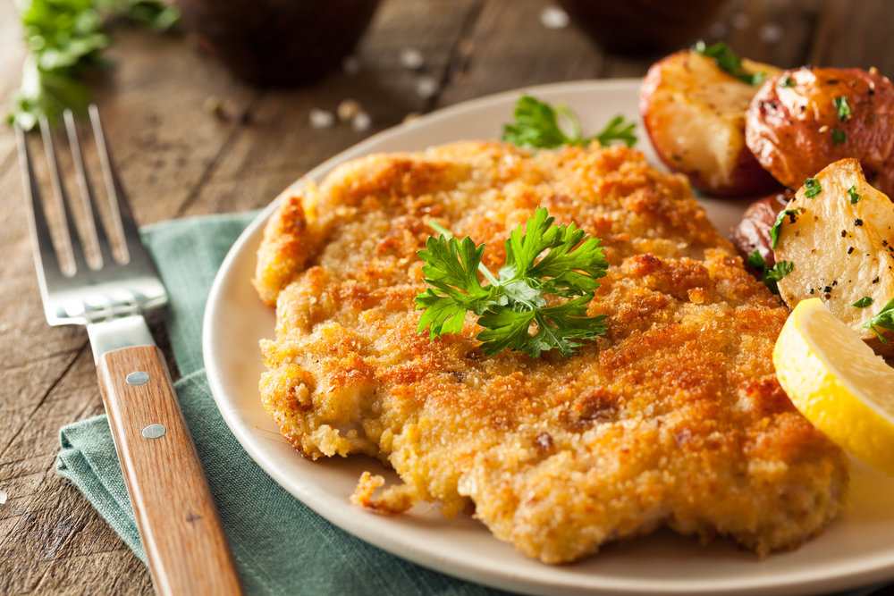 Our Famous Pork Schnitzel