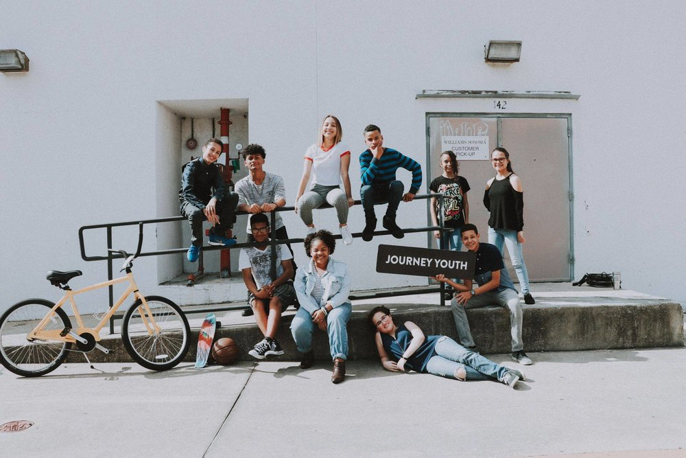 Journey youth - This team is designed to help the next generation grow in their faith, their character, and their relationships through services, small groups, and mission trips.