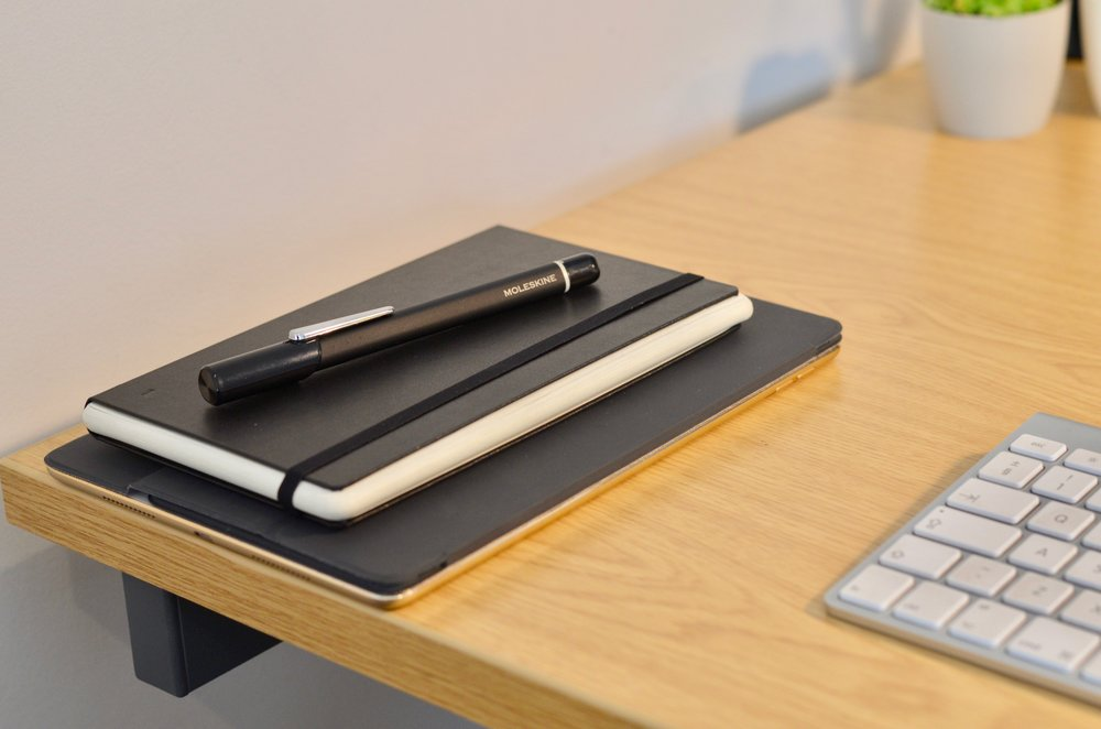 Moleskin smart pen and notebook sends transcribed notes to the iPad as I write them