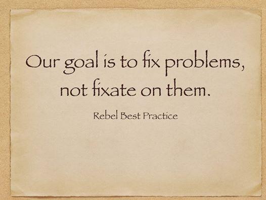 解决问题vs解决