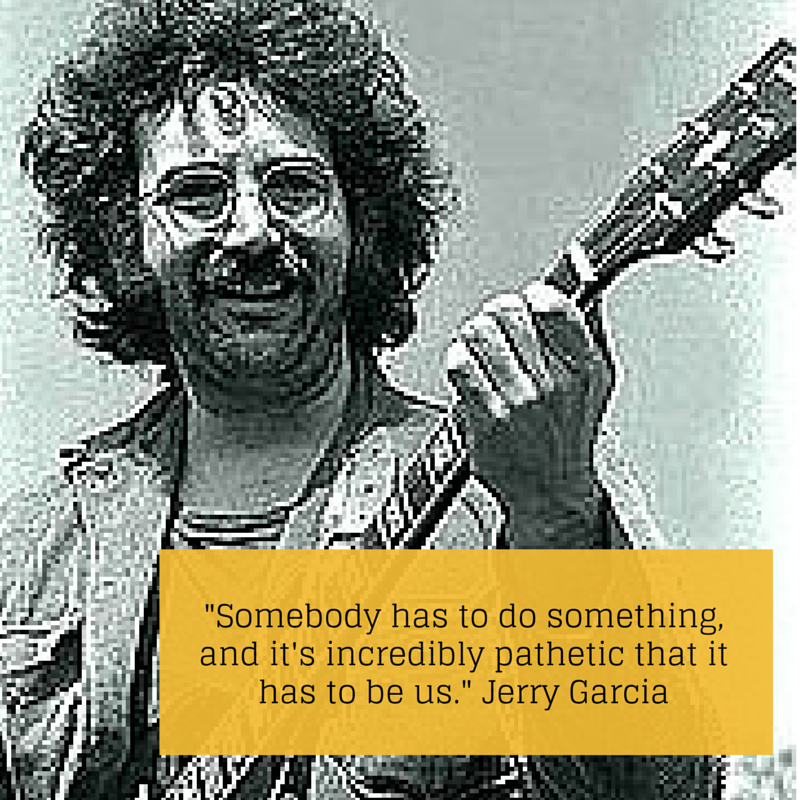 Jerry Garcia, Reluctant Rebel at Workjpeg