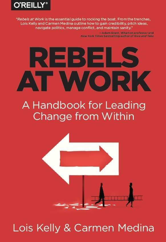 "- Every day people in all kinds of jobs at all kinds of workplaces reach the point where they say, ""Enough.""  While every rebel's reason for stepping up differs, almost all start with the same uncomfortable realization: ""I have to do something about this."""