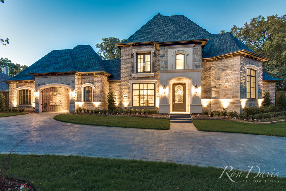 French Country Ron Davis Custom Homes