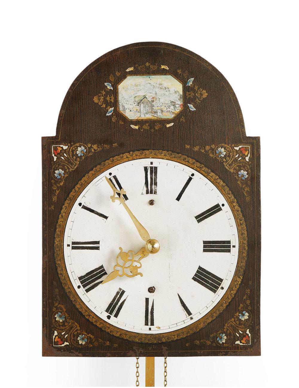 Mandtler Clock no. 8267, 1865. Mennonite Heritage Village 1966.406.1 (MC0217)