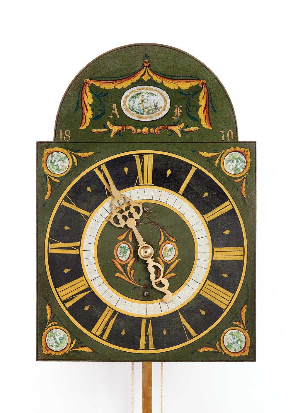 Mandtler Clock, 1870. Mennonite Heritage Village 1971.1.1 (MC0220)