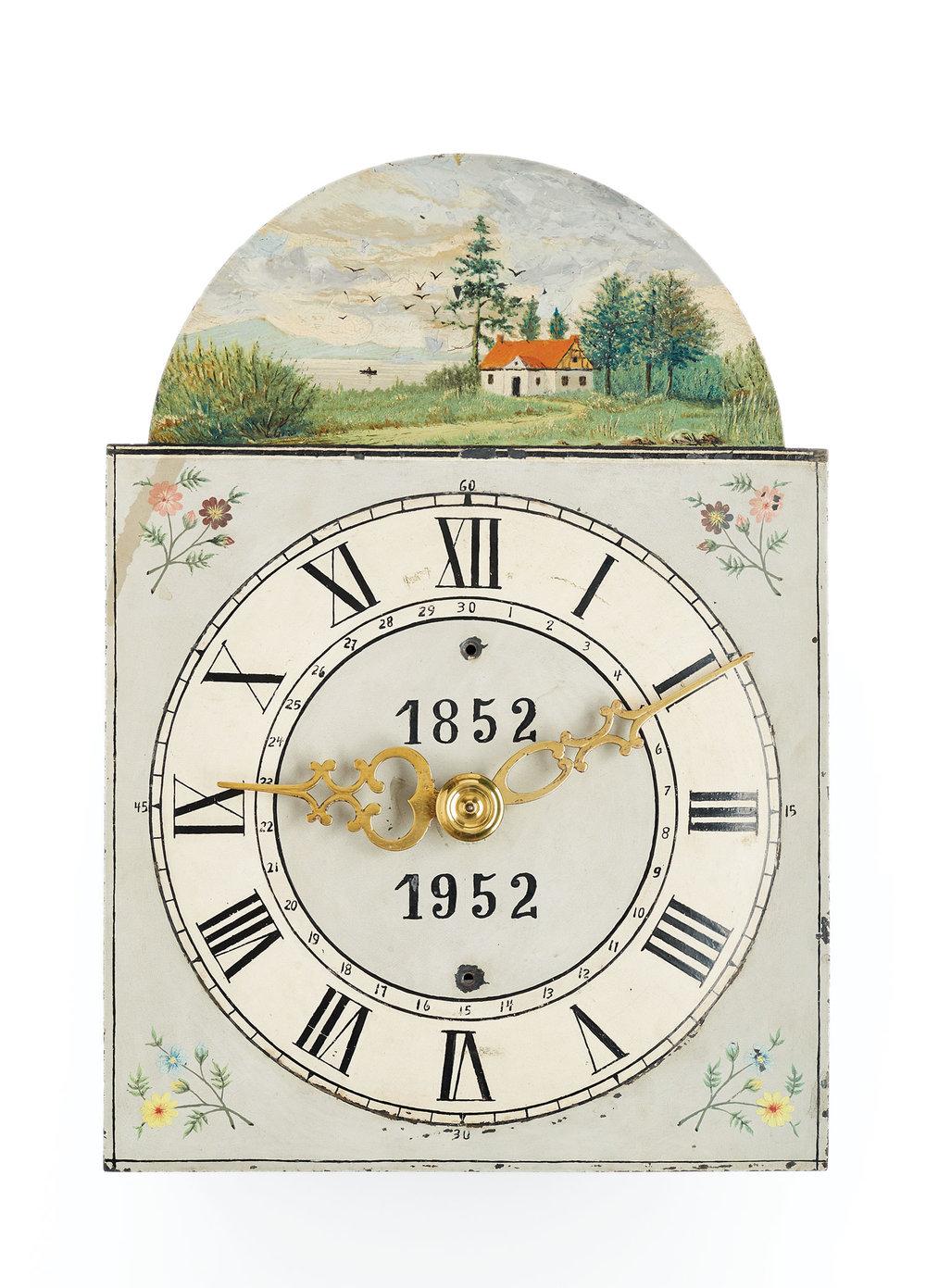 Hamm Clock, 1852. Manitoba Museum H9-6-867 (MC0258)