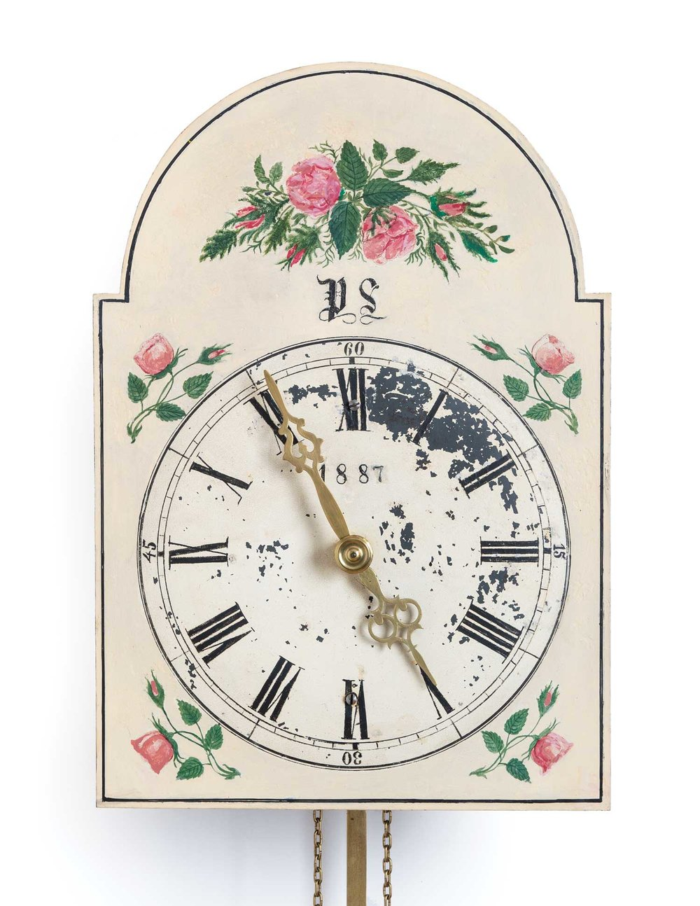 Kroeger Clock, 1887 (MC0100)