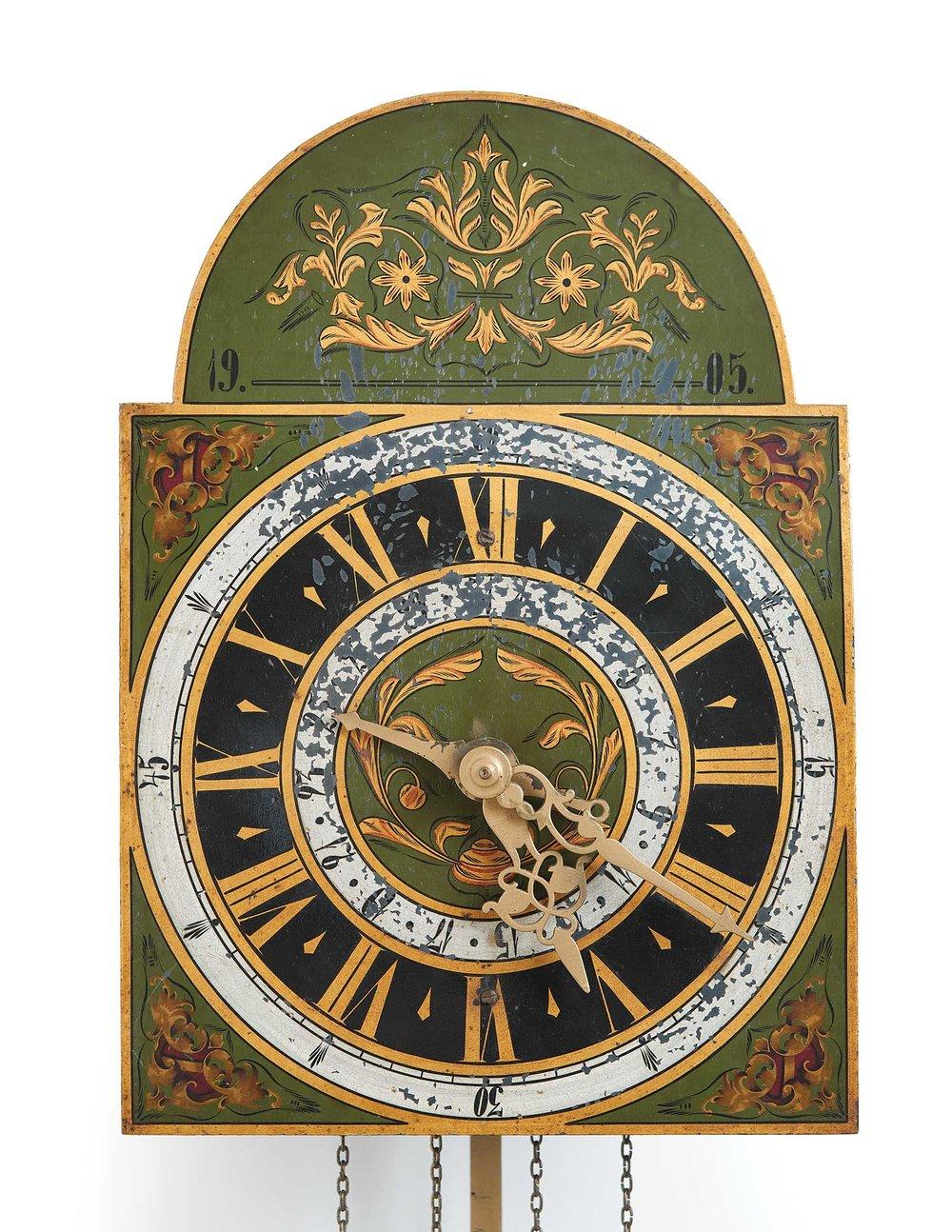 Mandtler Clock no. 303, 1905. Mennonite Heritage Village 1966.7000.348 (MC0218)