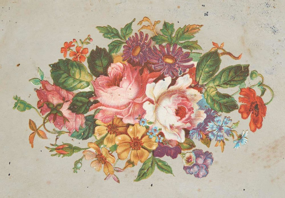 The floral motif, highlighted above, became a common feature on Kroeger clocks in the late nineteenth century.