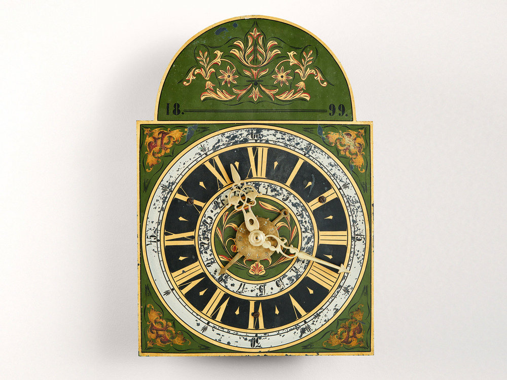 A Clock by the Mandtler Family