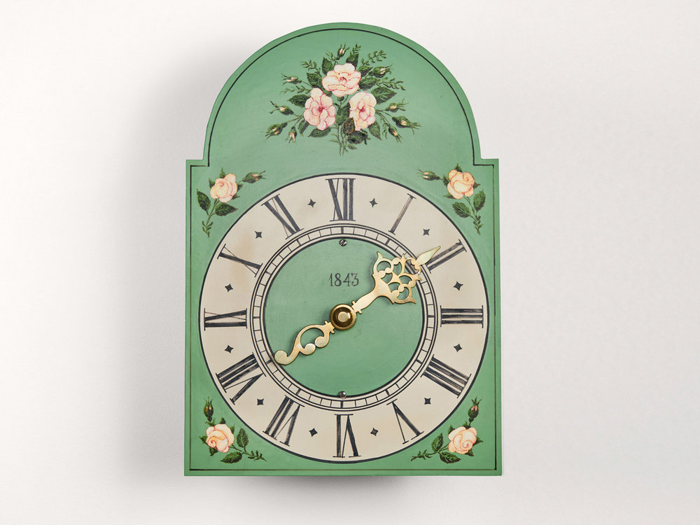 A Clock by the Lepp Family