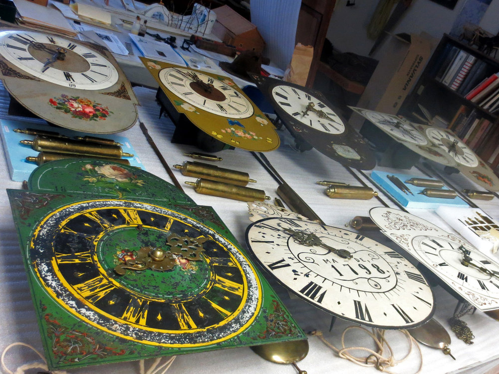 MHV Clock Collection