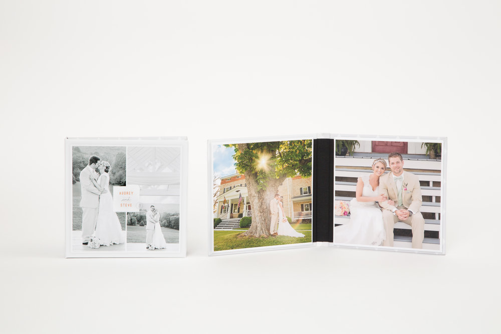 IMAGE FOLIOS  - starting at $175  A polished way to display favorite images from your sessions, Image Folios look great on a desktop, bookshelf or coffee table.