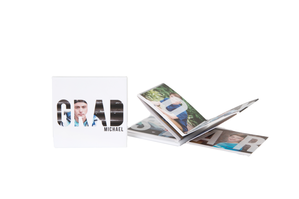 Brag Books - Tiny in size with a snap shut cover, our brag books make it easy to share your images with friends. Sold in sets of (3)$325