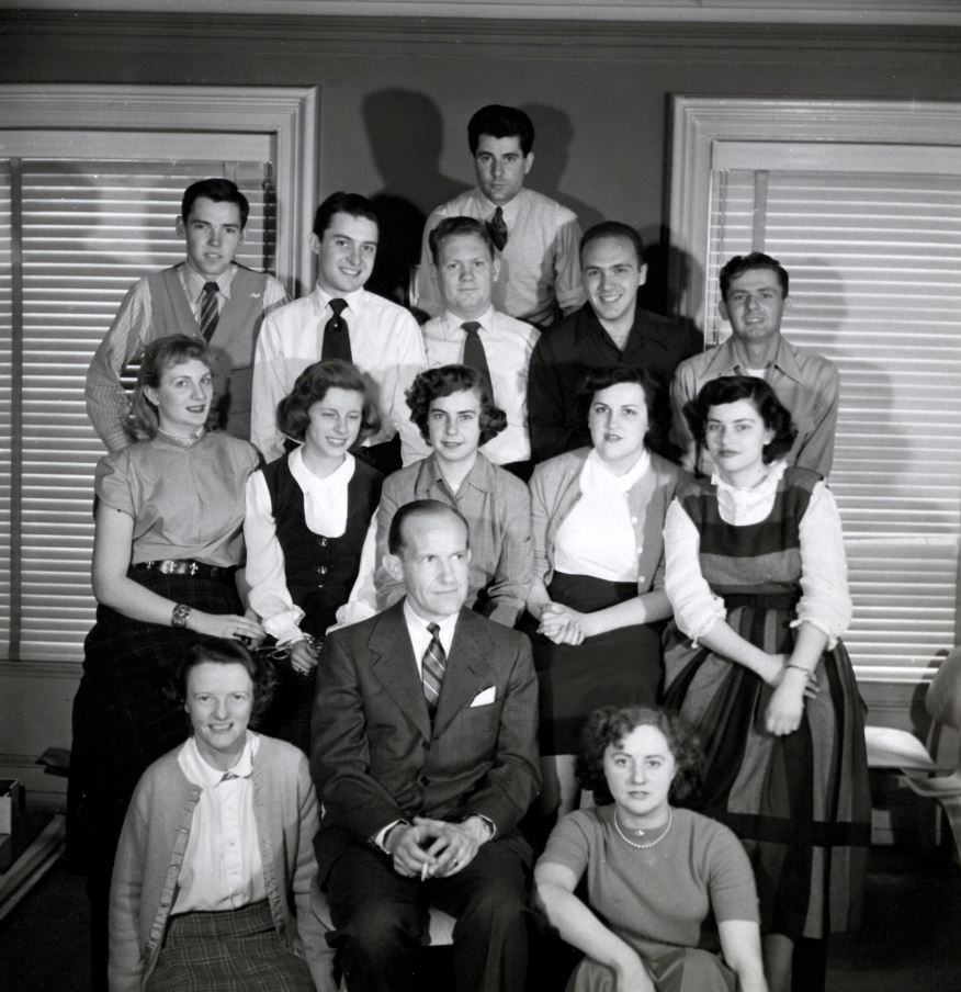 """NYSID Class of 1949: In his address at the Annual Graduate Luncheon on May 27, 1948, NYSID founder  Sherrill Whiton  gave solid advice to the Class of 1948: """"I believe that you have obtained the best training in the subject of interior decoration that is offered anywhere in the world. While the beginning may be slow the advancement is much more rapid than for someone who has not had your training. I know that you will commence your work with great confidence and maintain your courage. I wish you all good luck."""""""