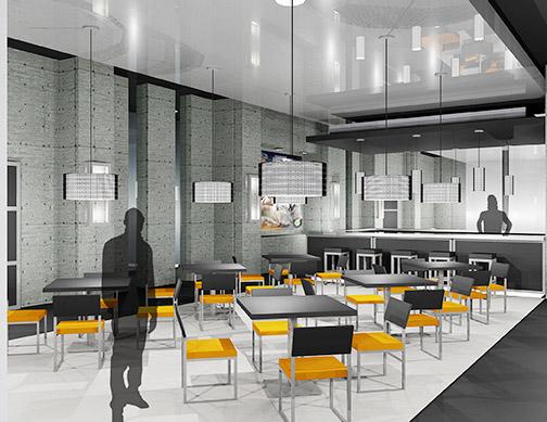Bar Area, M.B.A. Athletic Center