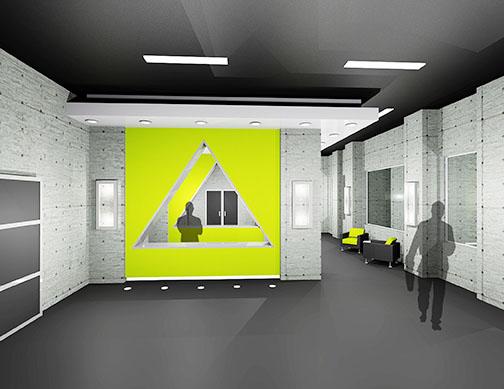 Reception Area, M.B.A. Athletic Center