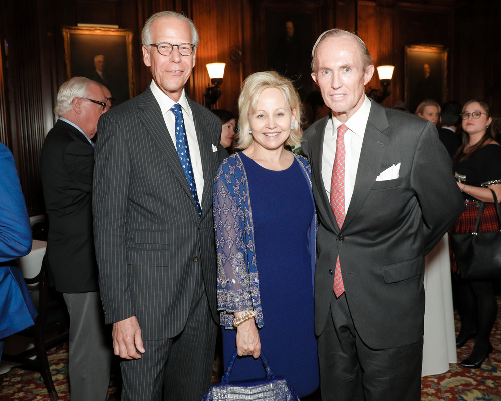 Jorge Sánchez (Honoree), Deborah Royce, Mark Gilbertson