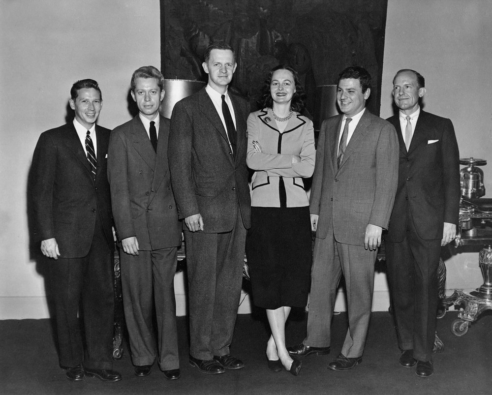 nysid-faculty-and-administration-including-alexander-breckenridge-2nd-from-left-sheila-chapline-3rd-from-right-and-gilbert-werle-far-right-ca-1955_24118491769_o.jpg