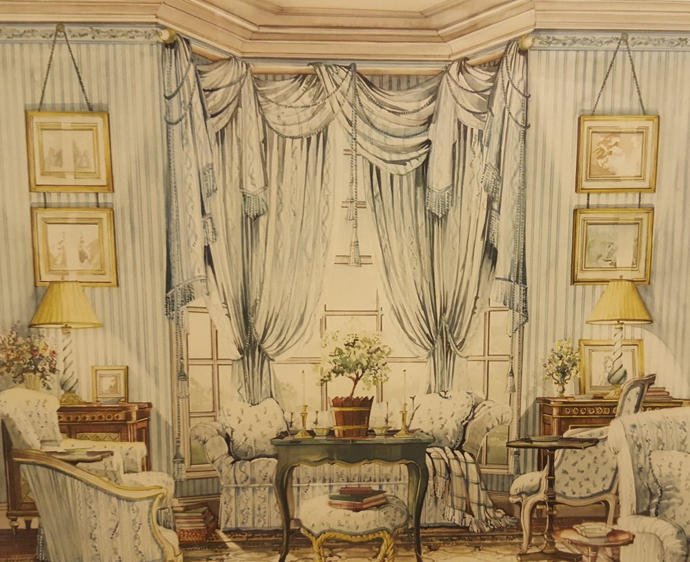 Nora\u0027s Notables: Harry Hinson\u0027s Books \u0026 James Steinmeyer Renderings in the Library · Nantucket By Design & New York School of Interior Design