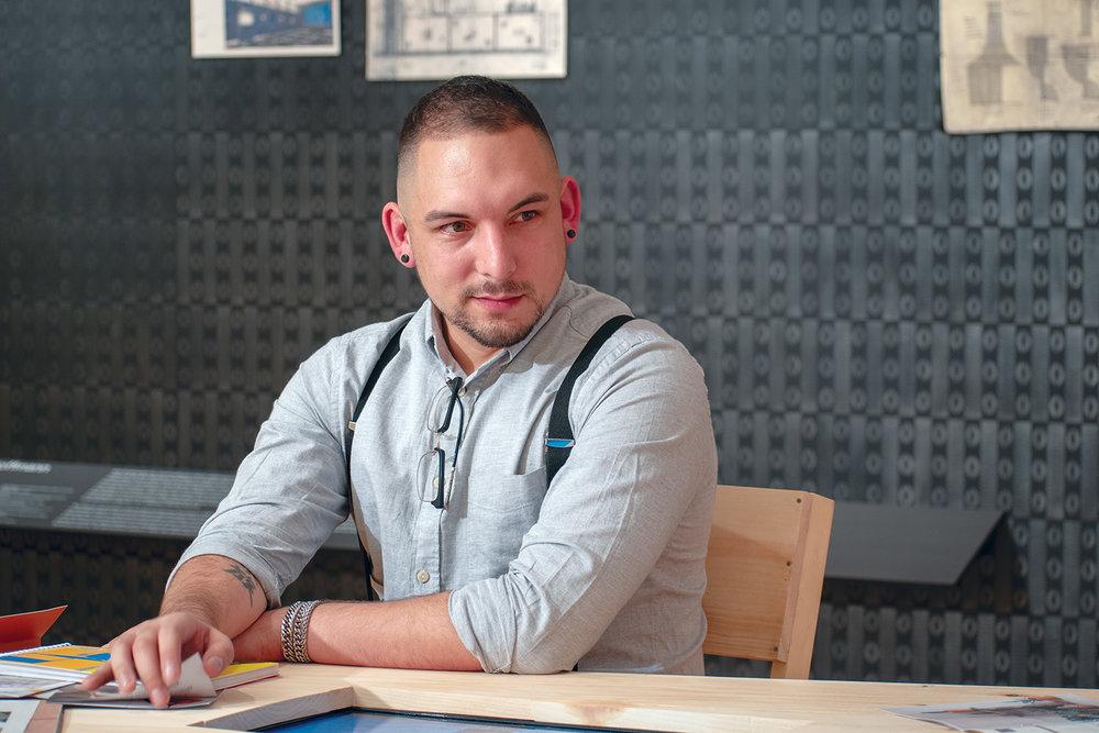 Shane Curnutt - A Cyber Intelligence Specialist Follows His Dream