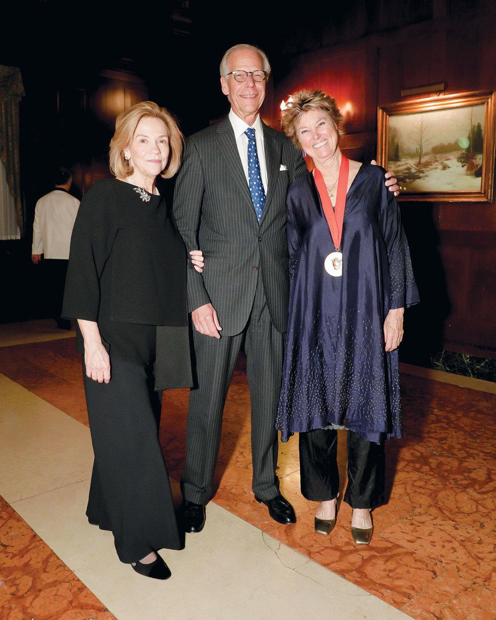 Suzanne Rheinstein, Jorge Sánchez, and Edwina von Gal