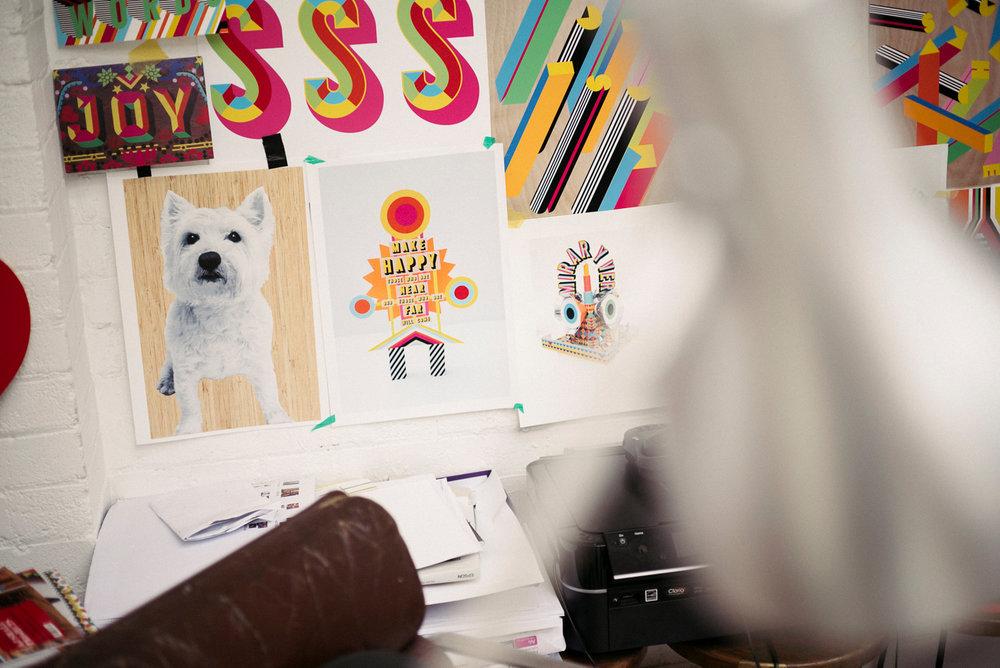 portrait photographer Tim Cole shoots studio details
