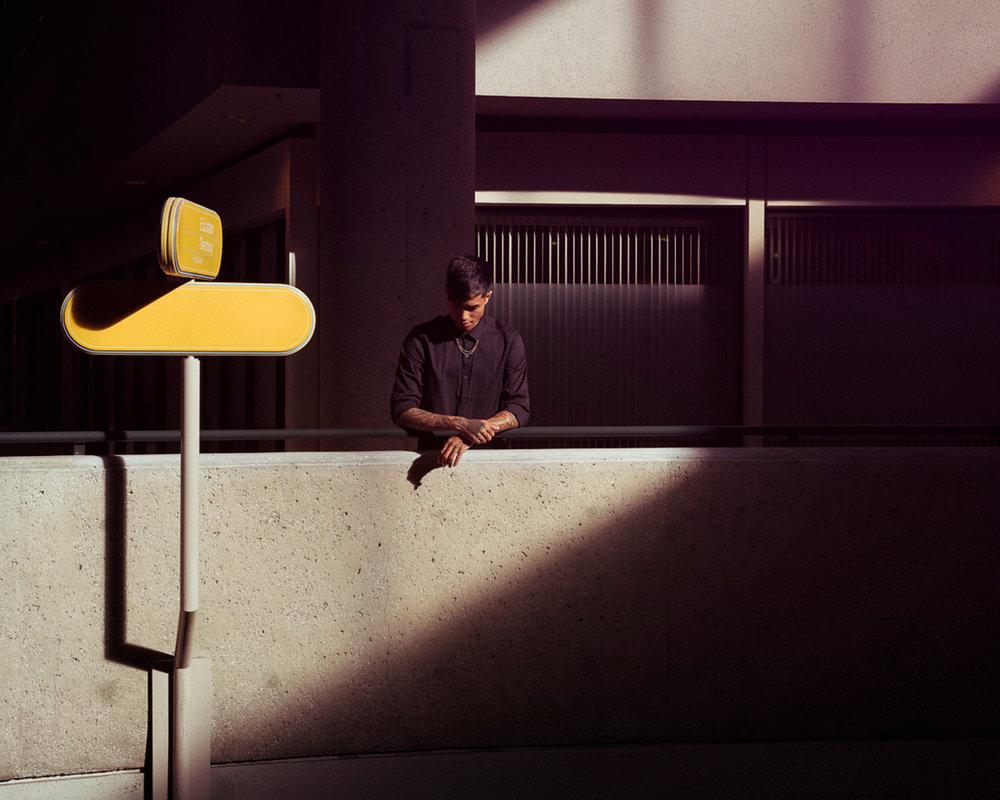 Portrait photographer Tim Cole shoots at the Westin Bonaventure Hotel lifestyle and portrait photography
