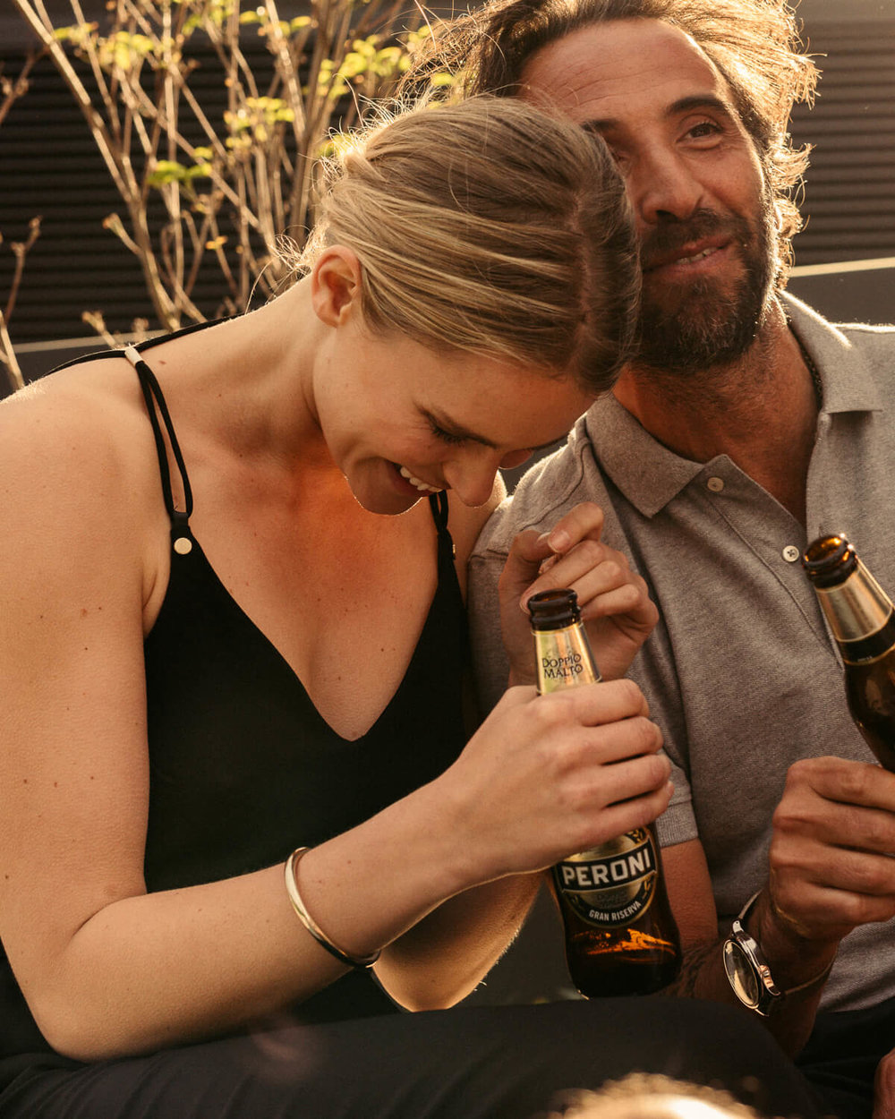 London lifestyle photographer Tim Cole shoots Peroni beer on the terrace
