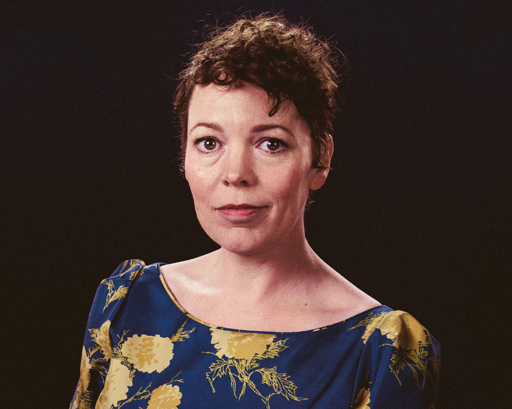 portrait photographer Tim Cole shoots Olivia Colman