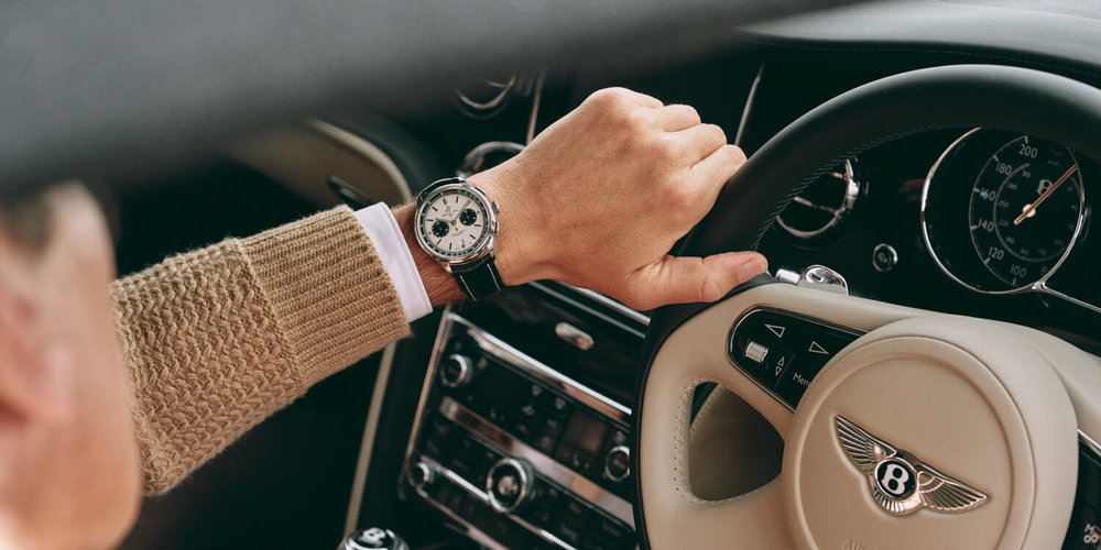 lifestyle photographer TIm Cole shoots man wearing a Breitling watch
