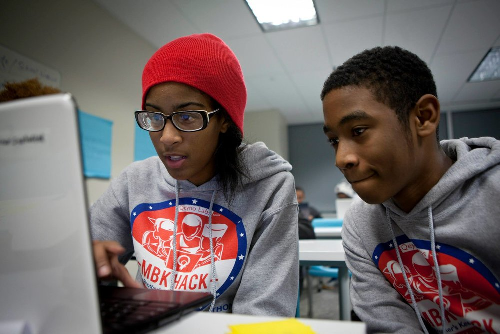 Youth learn how to prototype their ideas into real life