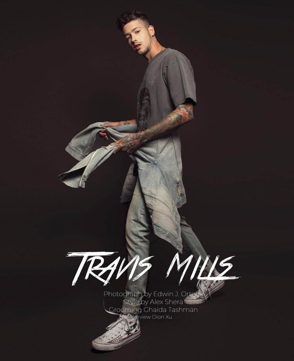 TRAVIS MILLS \\ 1.2M FOLLOWERS