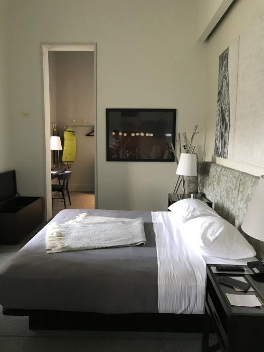 My hotel room -