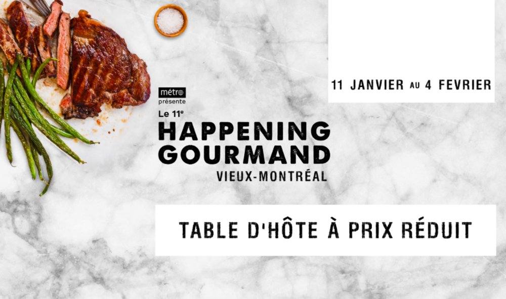 Happening Gourmand
