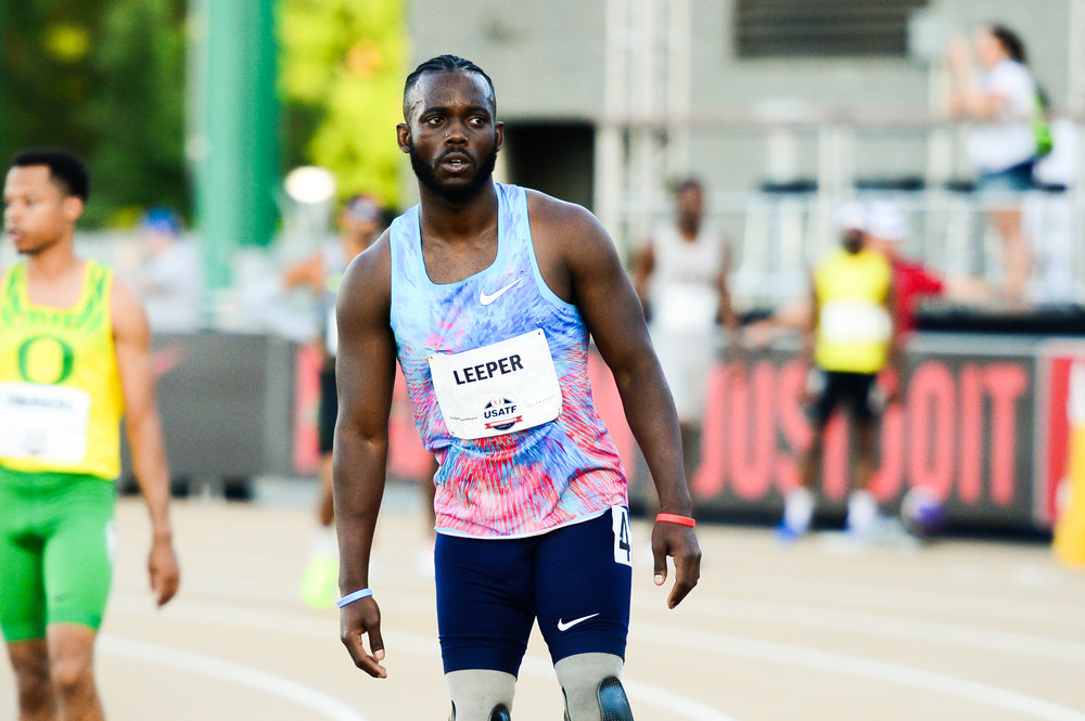 American Blake Leeper breaks Oscar Pistorius' world record in 400m -