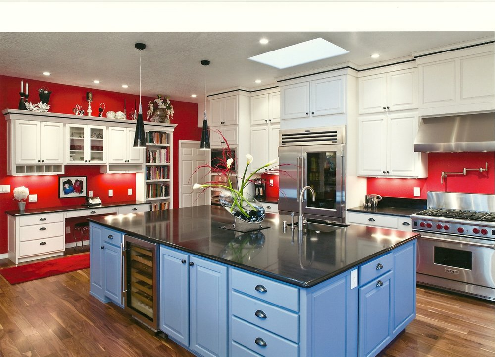 Copy of Colorful Kitchen Remodel