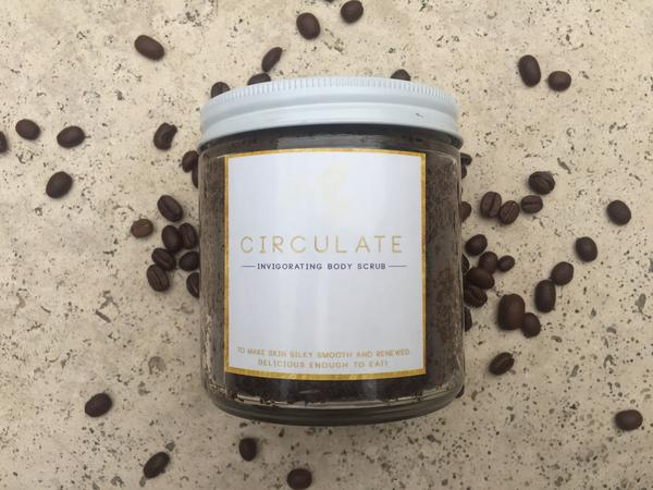 CIRCULATE :: Cacao Coffee Sugar Scrub - $ 25