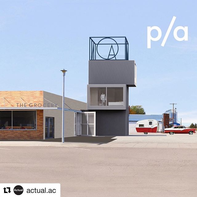 We are beyond excited to start building on this longtime dream of #MelZiegler. A big thank you to everyone working on this project!!! #Repost @actual.ac with @get_repost ・・・ We are beyond thrilled to announce that Actual Arch. and @makefact won a 2019 Progressive Architecture Award for The Grocery, a community art center for the @sandhillsinstitute in the ranching community of Rushville in western Nebraska. Thank you to the editors @architectmag , the #paawards jury, all of the spring 2018 FACT students, and especially to #melziegler. Let's build soon! See more at link in profile.