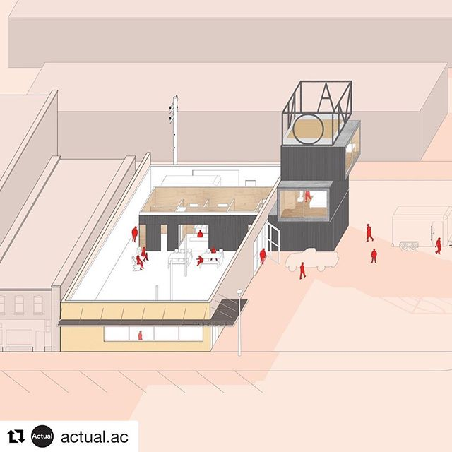 Excellent work @kay_lameyer !!!!!! #Repost @actual.ac with @get_repost ・・・ Actual Arch. and @makefact won a 2019 Progressive Architecture Award for The Grocery, a community art center for the @sandhillsinstitute in the ranching community of Rushville in western Nebraska. Thank you to the editors @architectmag , the #paawards jury, all of the spring 2018 FACT students, and especially to #melziegler. Let's build soon! This drawing is by FACT. See more at link in profile.