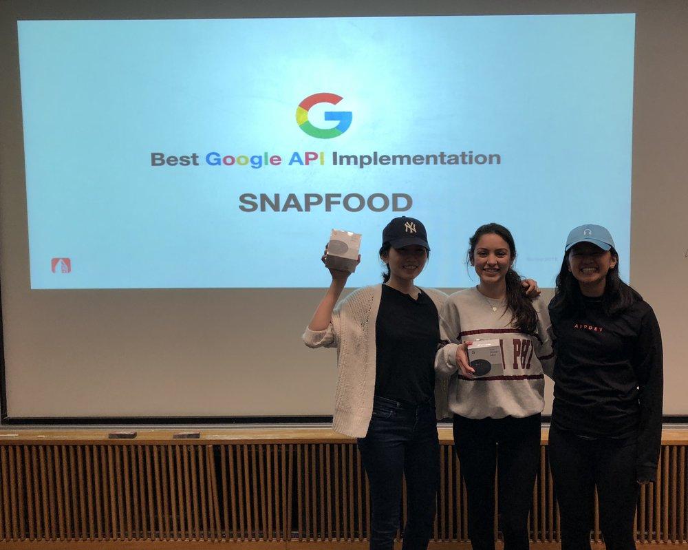 Ophelia Zhang (Design), Meredith Dobrzynski (iOS), Mindy Lou (TA)