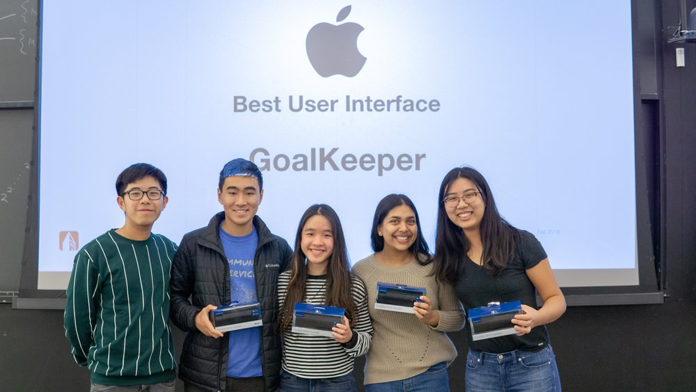 Kevin Chan (TA), Richard Wang (Backend), Yanlam Ko (iOS), Avani Aggrwal (iOS), Cecelia Lu (Design)