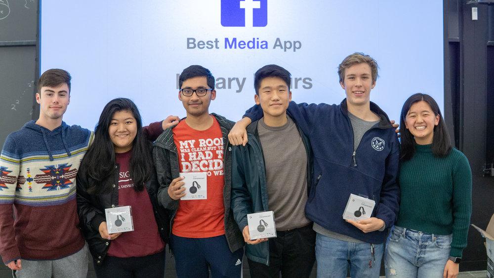 Conner Swenberg (TA), Amanda Yang (Design), Amartya Utkarsh (Backend), Andrew Wang (iOS), Mathew Scullin (iOS), Mindy Lou (TA)