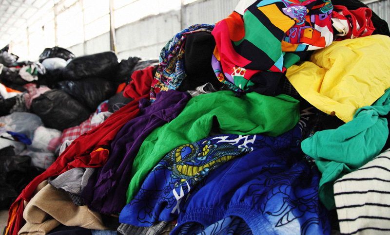 Our MIssion - Divert 100% of textile waste from landfills by recycling.