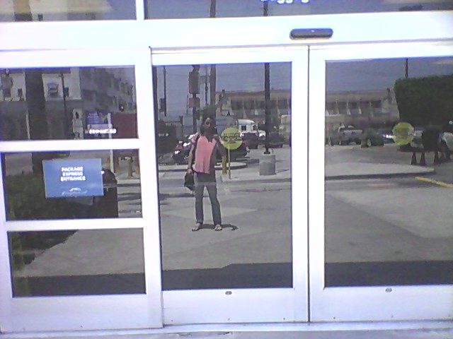 L.A. 2014. Looking to garner some street cred. Waiting for a bus. Thinking about rolling some dice on the side-streets. Hot. Melting. Prayers don't work here.